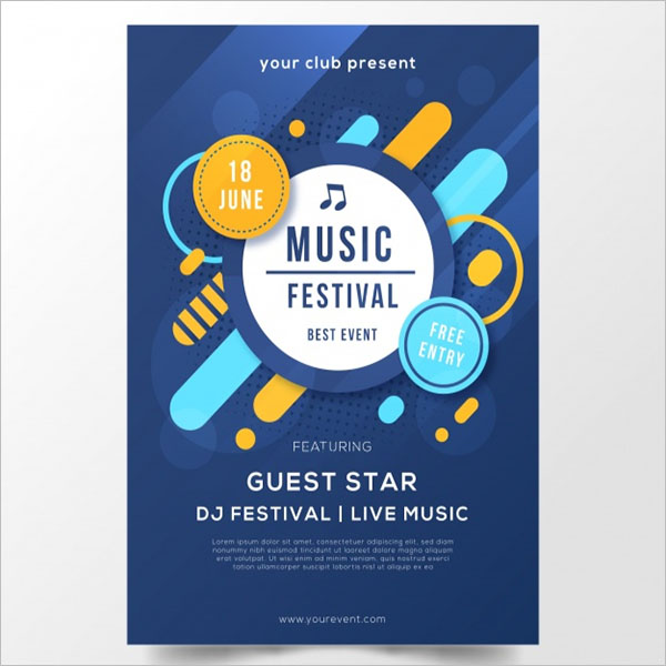 Graphic Poster Design Vector