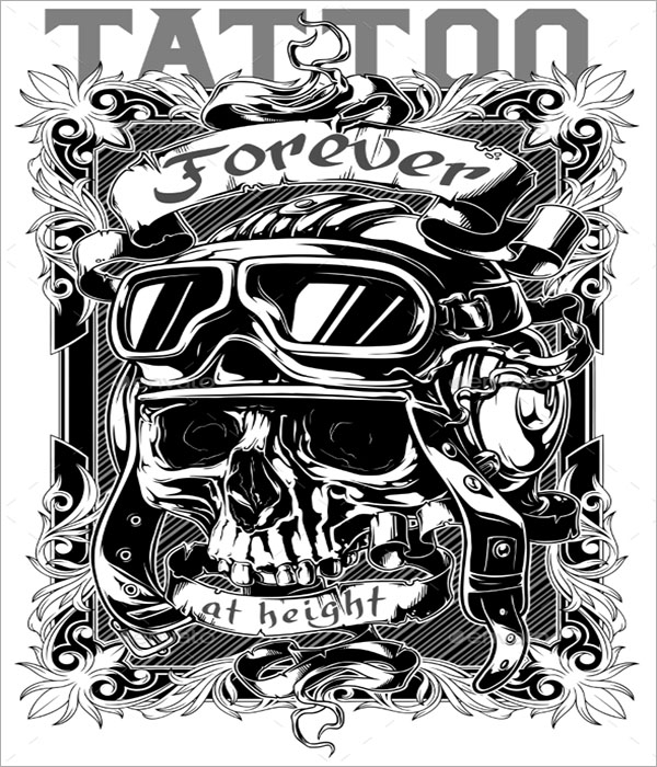 Graphic Tattoo Poster Design
