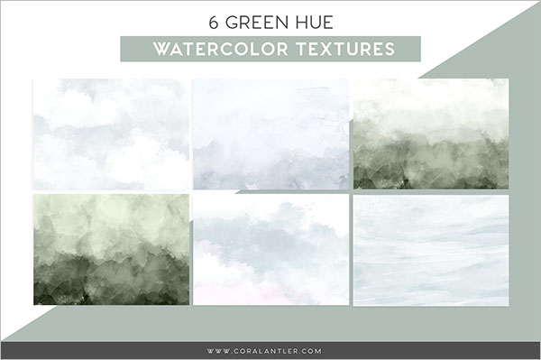 Green Water Texture Design