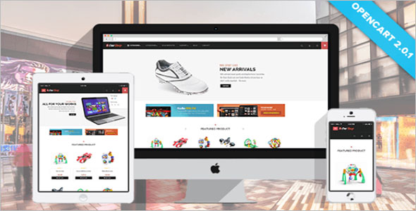 Grocery Responsive Opencart Theme
