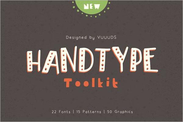 Handtype Poster Design