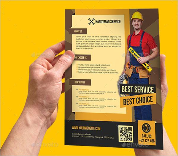 Handyman & Plumber Flyer Template