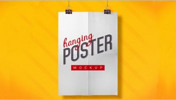 Hanging Poster Templates