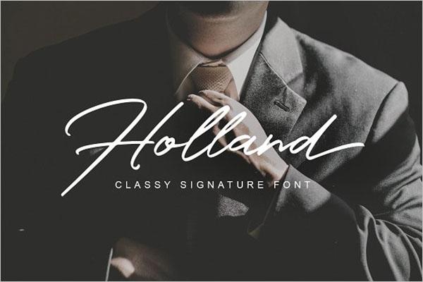 Holland Modern Fonts