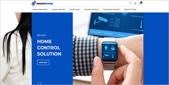 Home Electronics Magento Theme