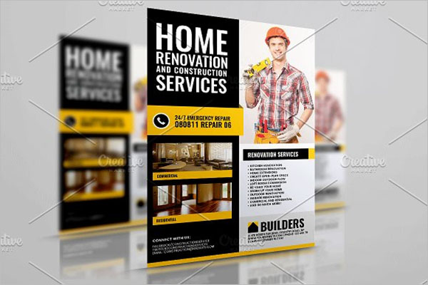 Home Improvement Flyer Template