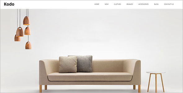 Home Needs OpenCart Theme