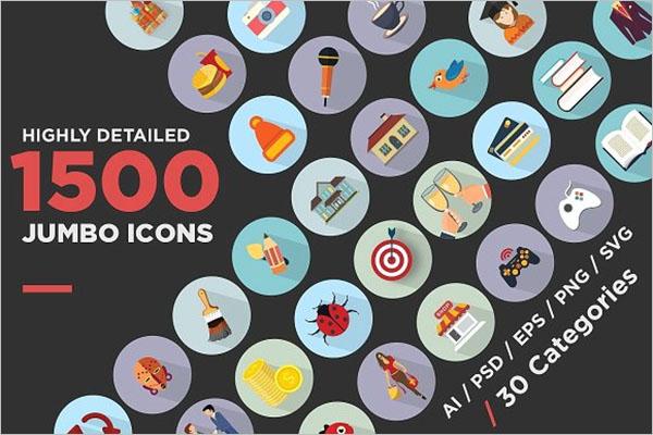 Info Graphic Icon Design