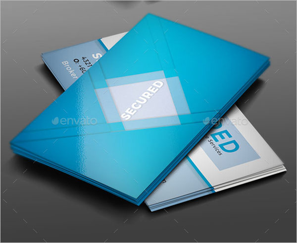 Insurance Business Card Template