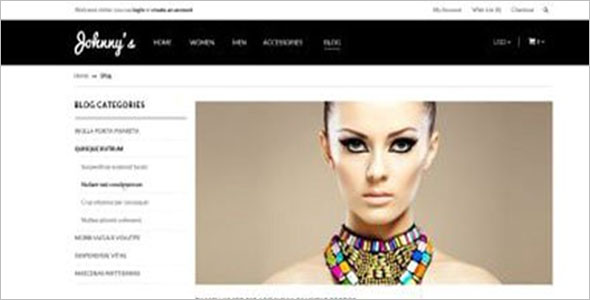 Jewelry Opencart Theme Nulled