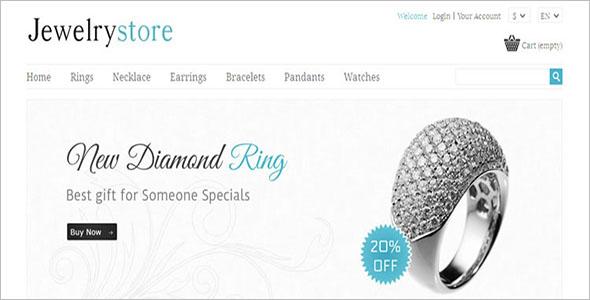 Jewelry PrestaShop Opencart Theme