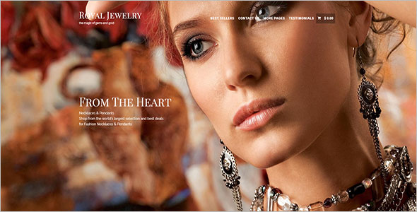 Jewelry Store WordPress Theme