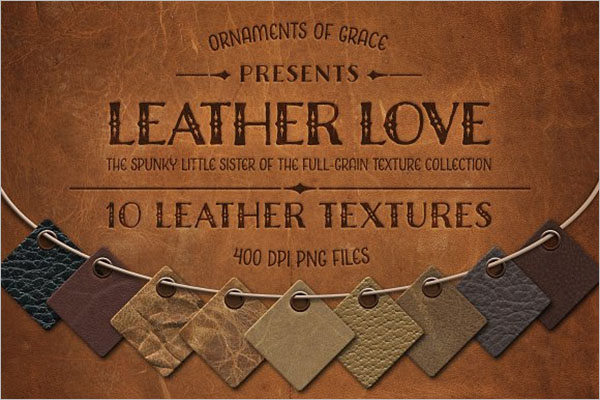 Leather Textures Template