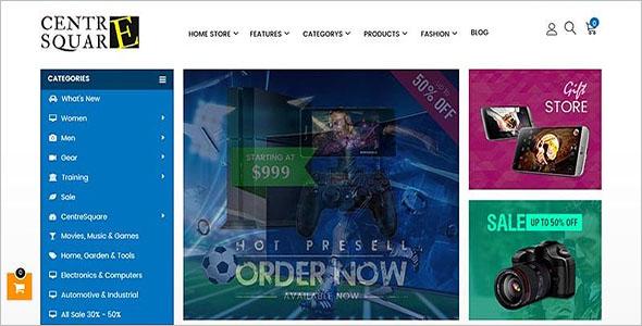 Magento Shop Theme Design