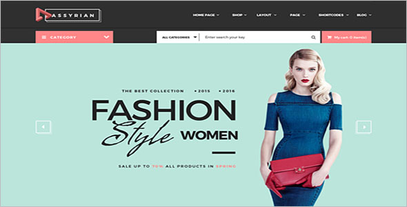Magento Shopping Cart Theme