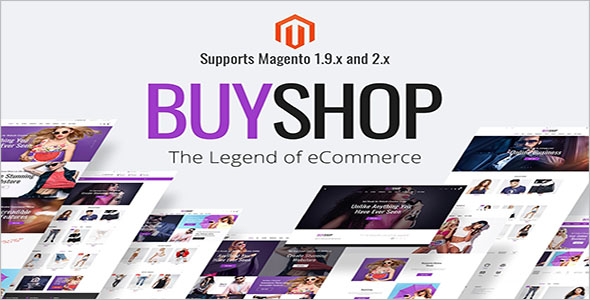 Magento WordPress Theme