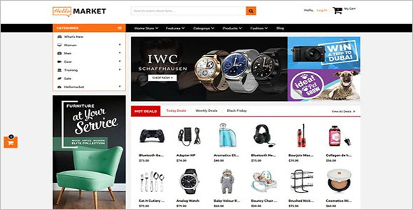 Marketplace Magento 2 Theme