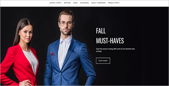 Men's Fashion Magento Theme