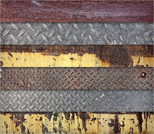 Metal Base Textures Design