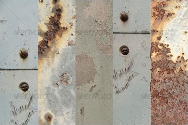 Metal Texture Wallpaper Design
