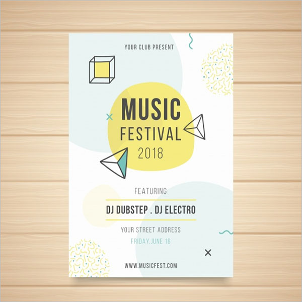 Modern Party Poster Template