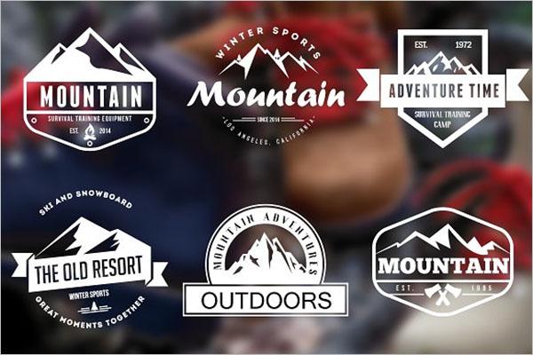 Mountain Vintage Graphic Design