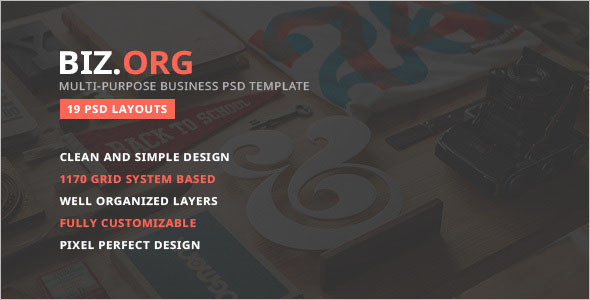 Multipurpose Business Joomla Template