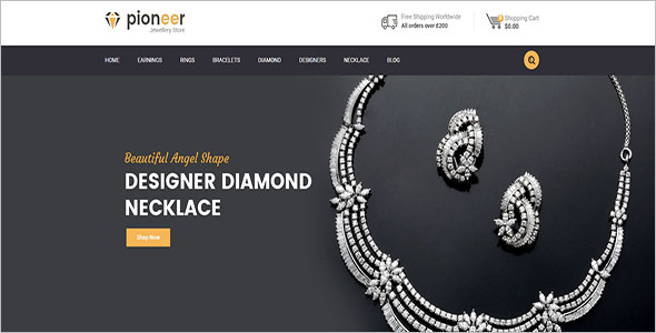 Multipurpose Opencart Jewelry Theme