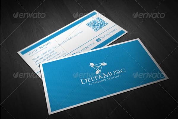 Music Artist Business Card