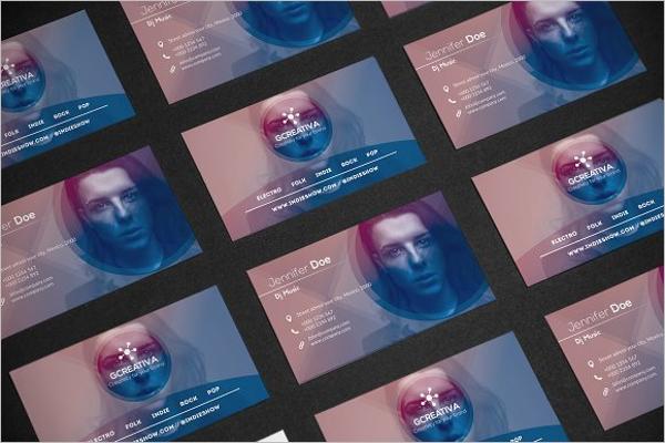 Music Business Card Ideas