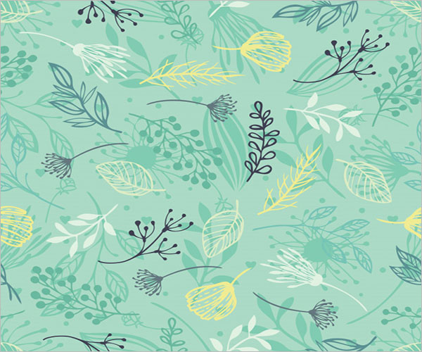 Nature Seamless Pattern Design