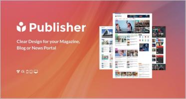 News Portal Blog Templates