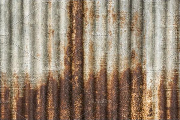 Old Metal Zinc Background Texture