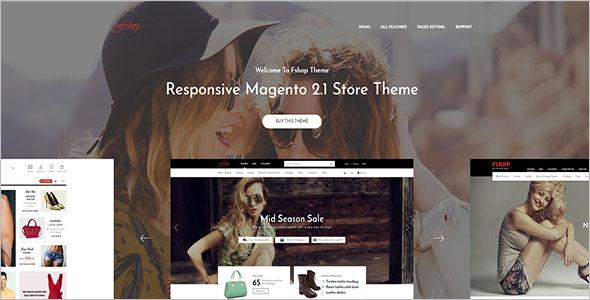 Online Ecommerce Magento Theme