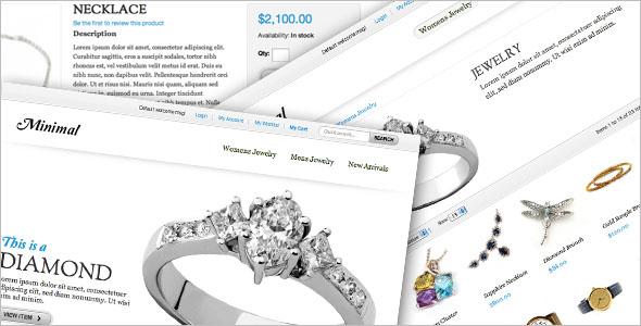 Online Jewelry Magento Theme