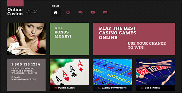Online Poker WordPress Theme