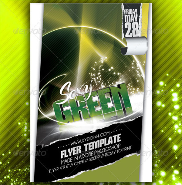 Pack Of 3D Flyers
