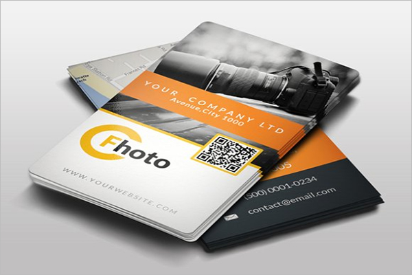 Personal QR Code Business Card