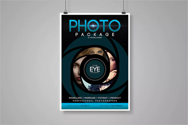 Photography Hanging Poster Template