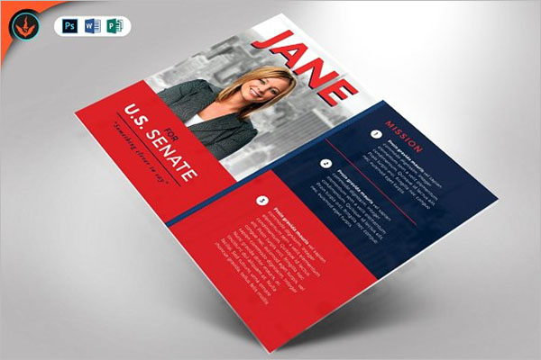 Political Event Flyer Template