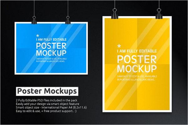 Poster Mockups Design
