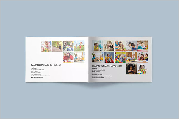 PreSchool Brochure Template
