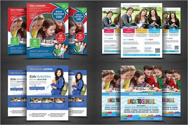 Preschool Graduation Flyer Template