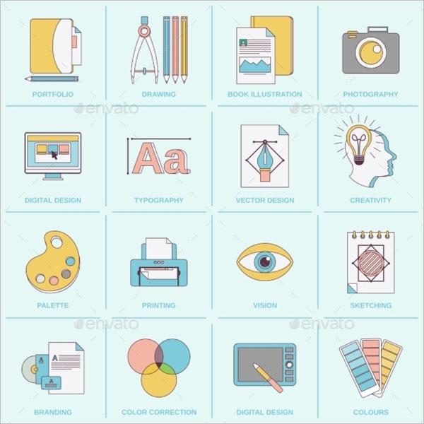 Print Graphic Design Icon