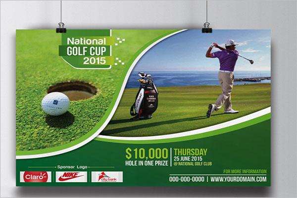 Printable Golf Flyer Template