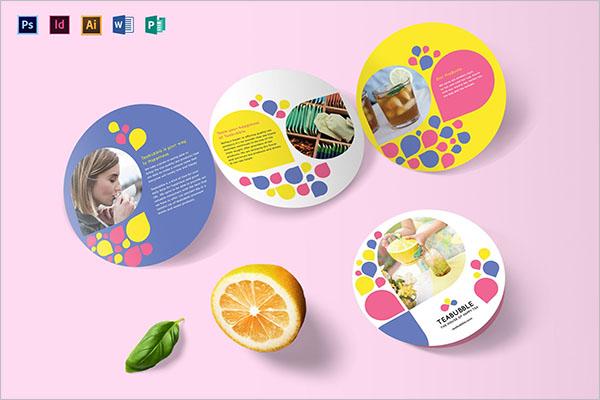 Printable Restaurant Brochure Templates