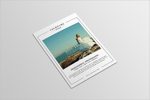 Professional Photograhy Brochure Template