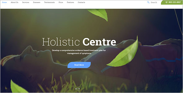 Professional Spiritual WordPress Theme