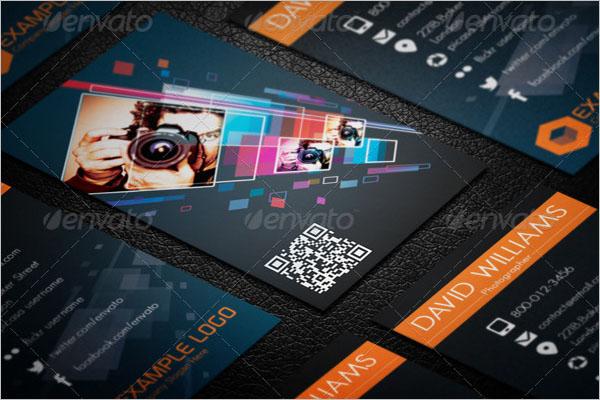 QR Code Business Card Format