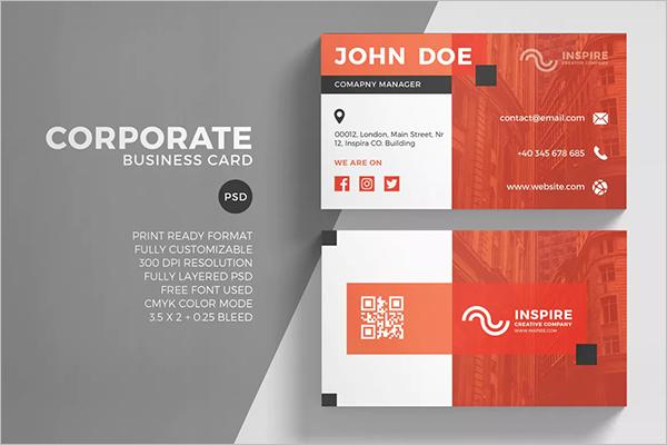 QR Code Business Card Generator